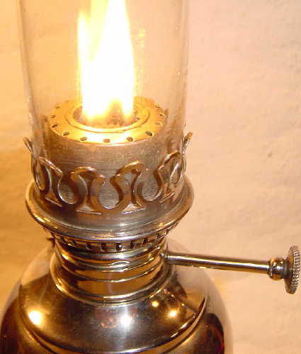 Kerosene-lamps